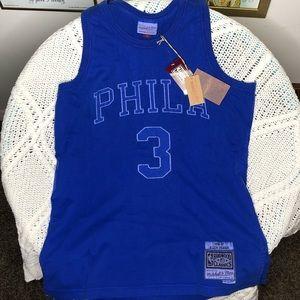 Washed Out Swingman Jersey Philadelphia 76ers